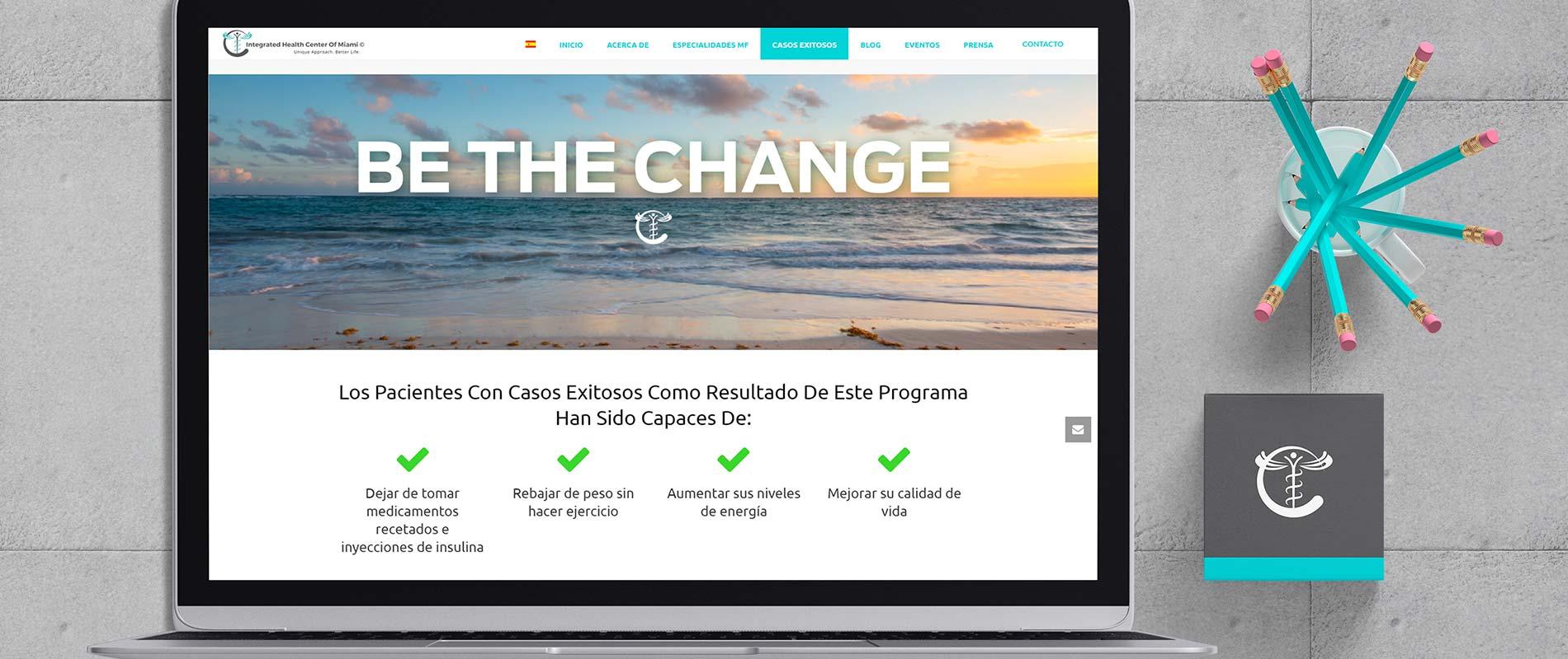 Publicaciones de contenido y actualizaciones en IHC Miami