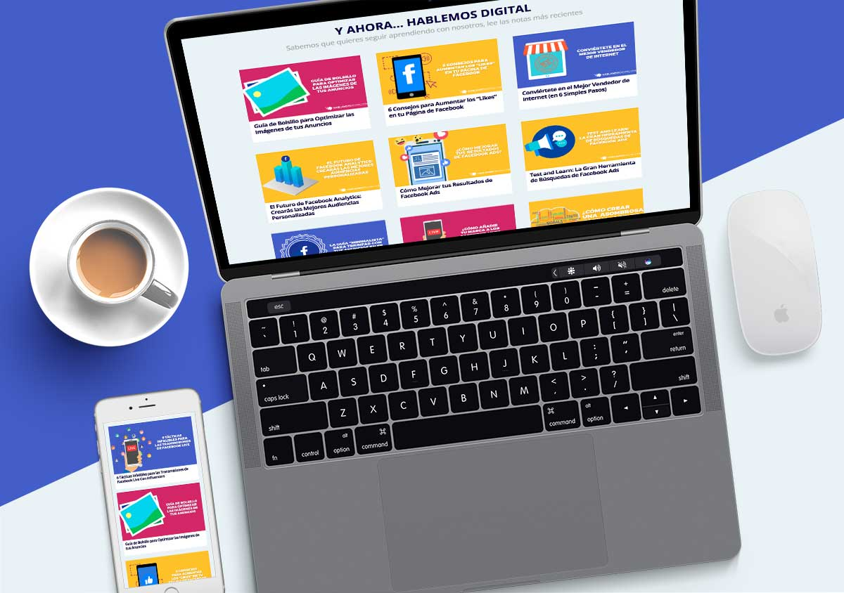 Creación de historia de navegación para mejorar experiencia del usuario en Hablando digital