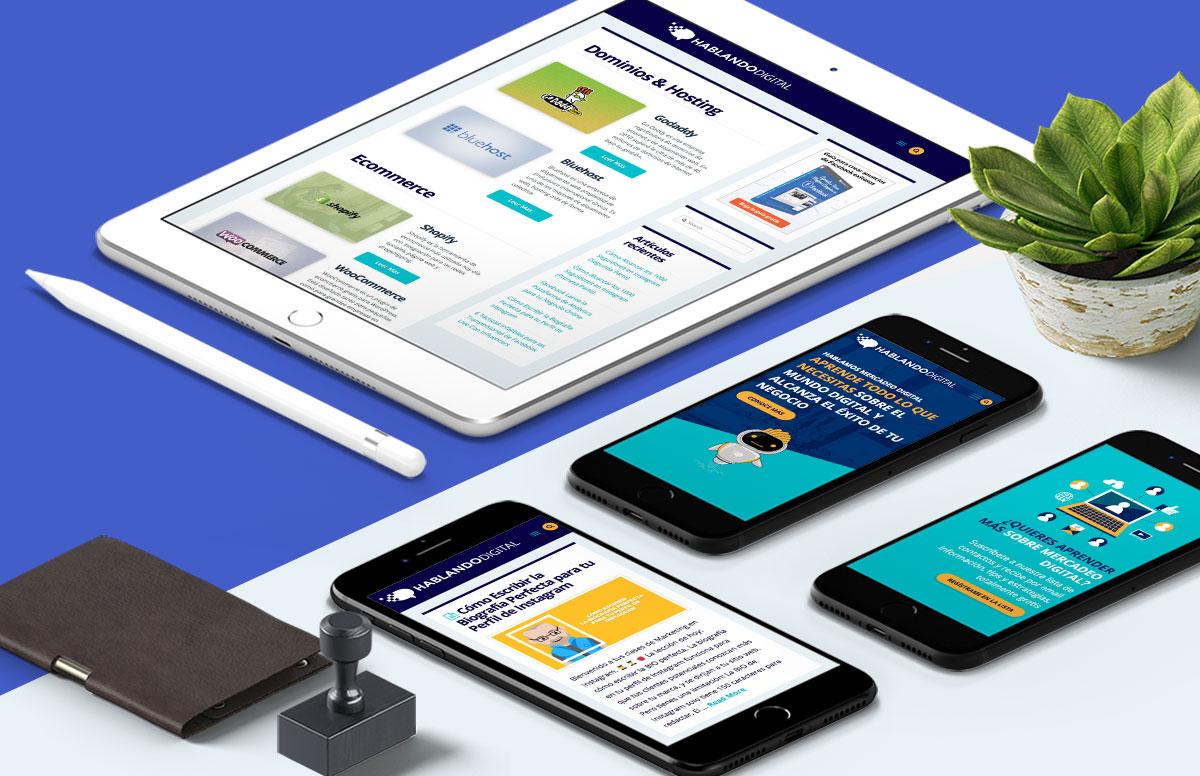 Implementación de plataforma robusta para ofrecer talleres en línea en Hablando digital