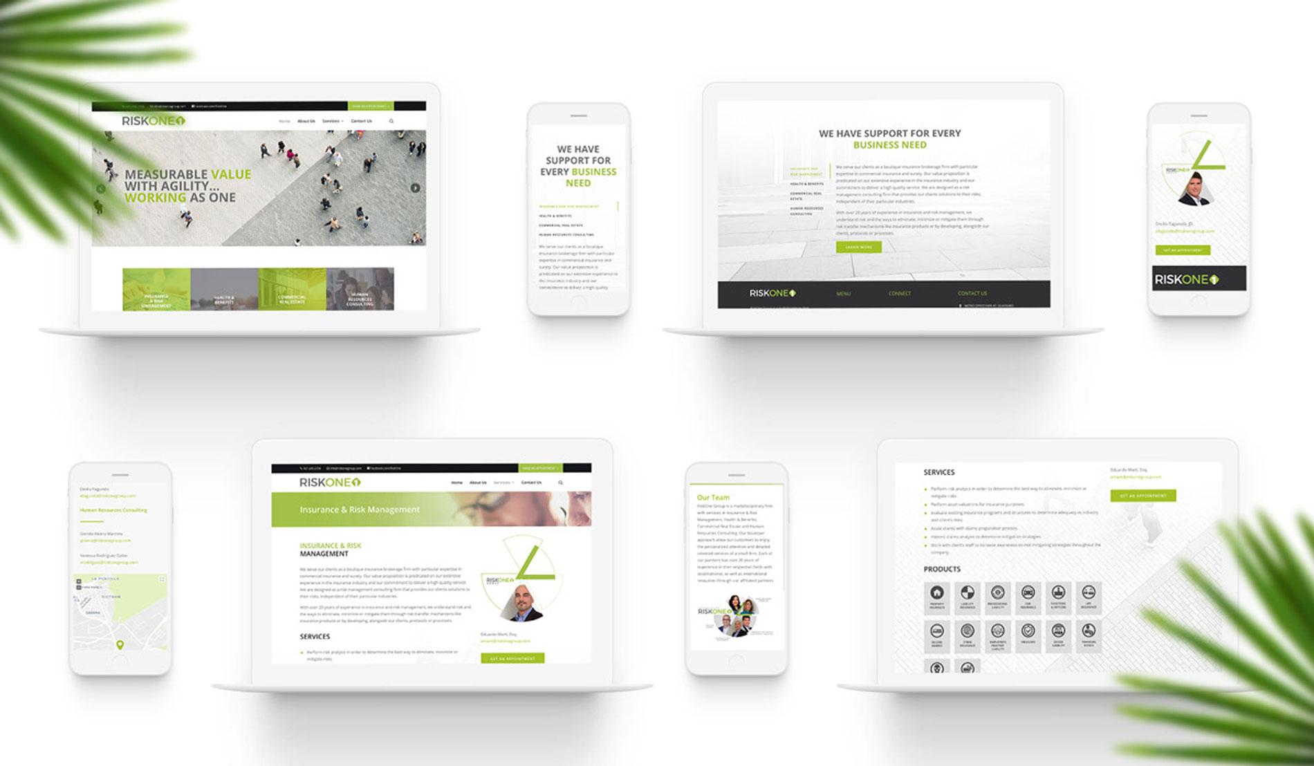 Nuevo sitio web de RiskOne Group