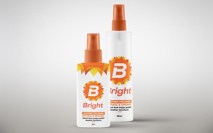 branding en Bright limpiador de muebles