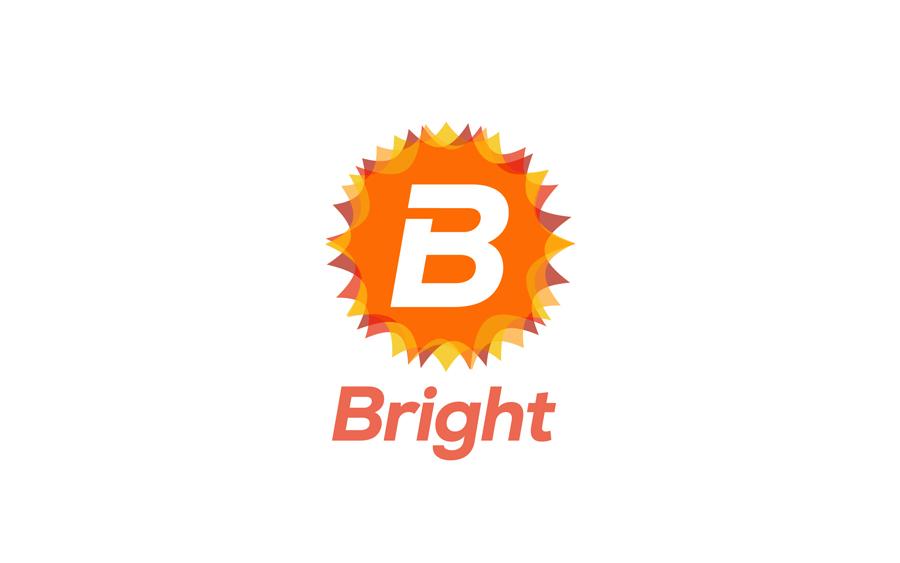 Diseño de logo de brigth limpiador de muebles