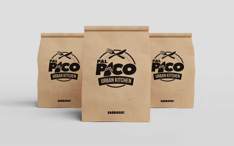 Diseño de bolsas para llevar en palpico por Mio