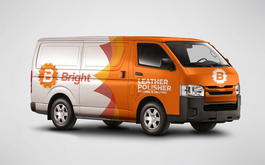 Branding y diseño de Bright con Mio agency digital