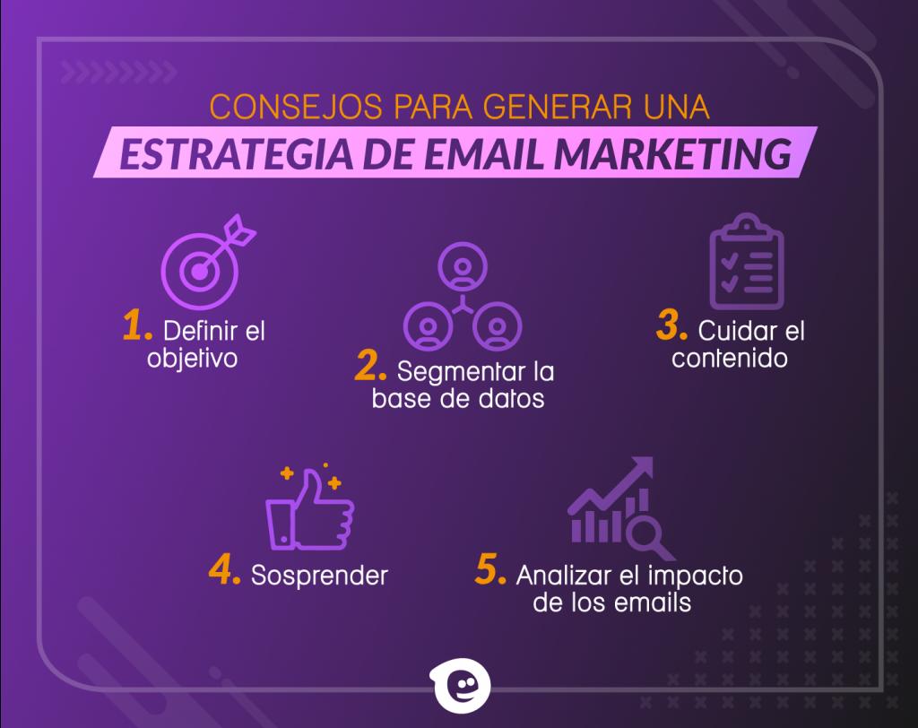Consejos para generar una estrategia de email marketing