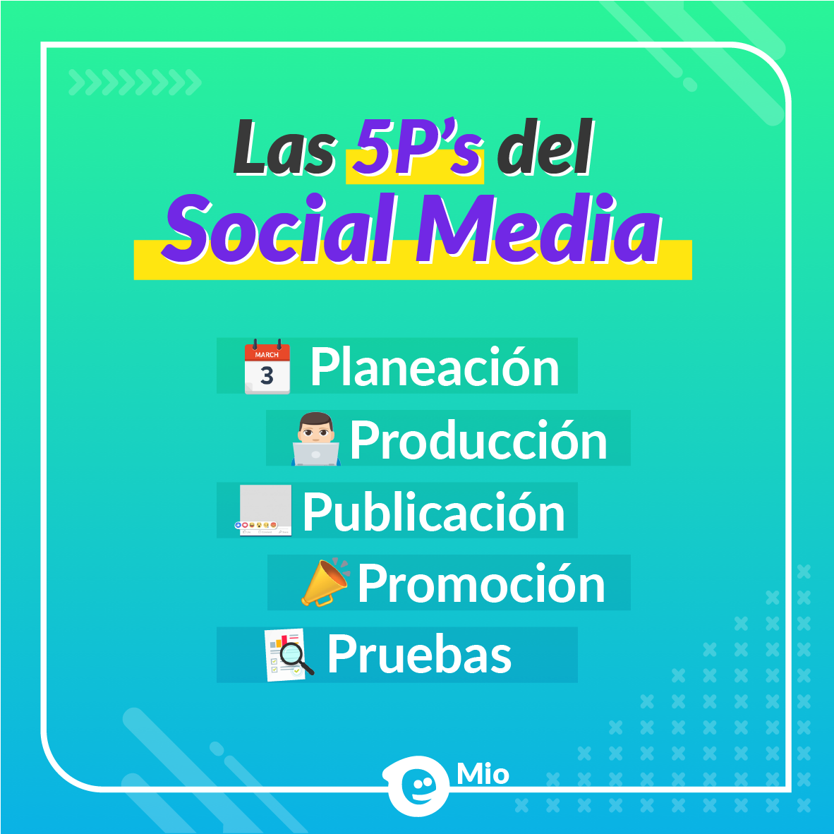 Social media en Mio digital