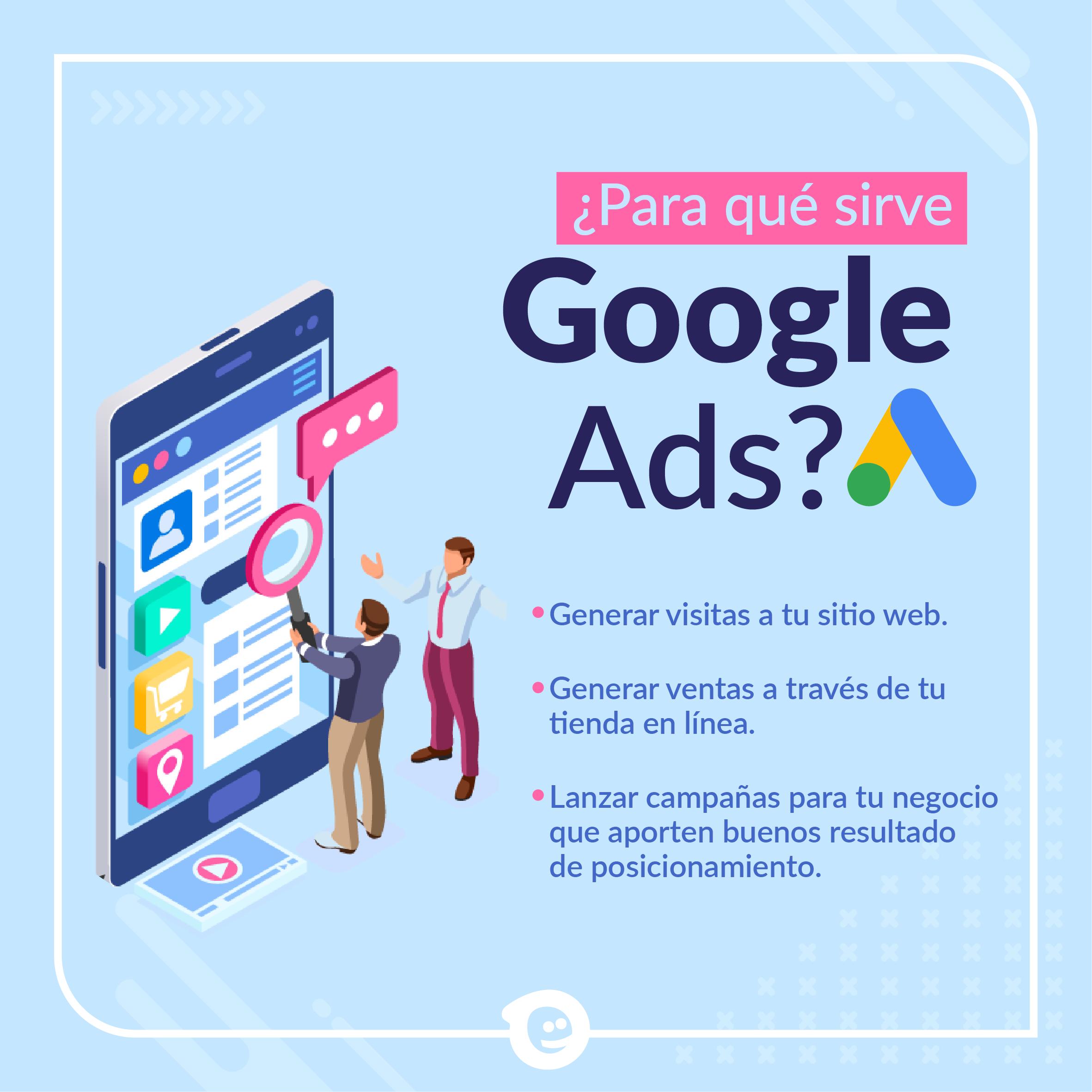 Para qué sirve Google Ads