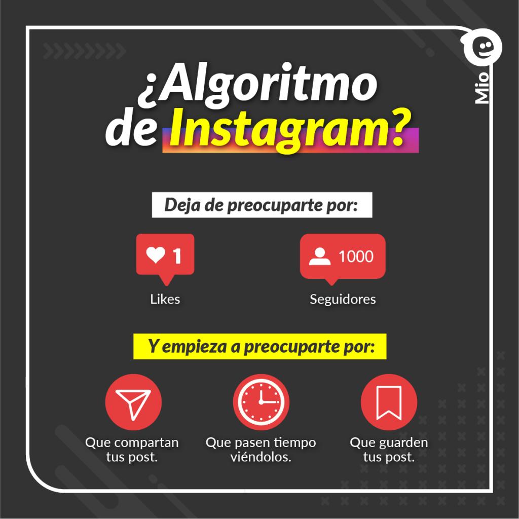 Cómo funciona el algoritmo de instagram