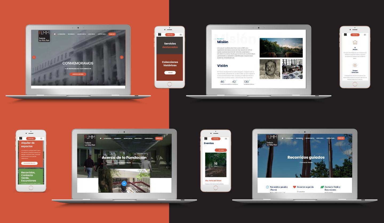 modernización de la presencia digital y mantenimiento de la página web a FLMM