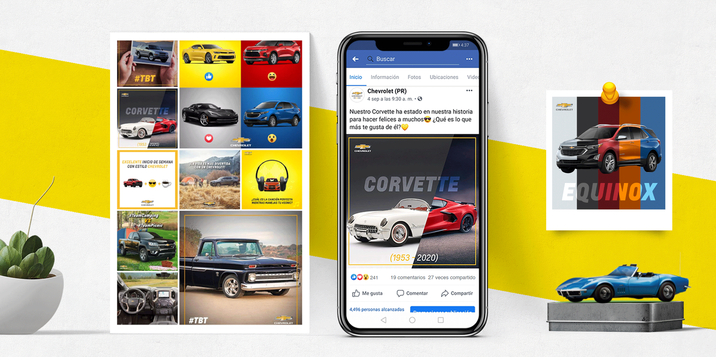 Mercadeo digital en Facebook para Chevrolet PR
