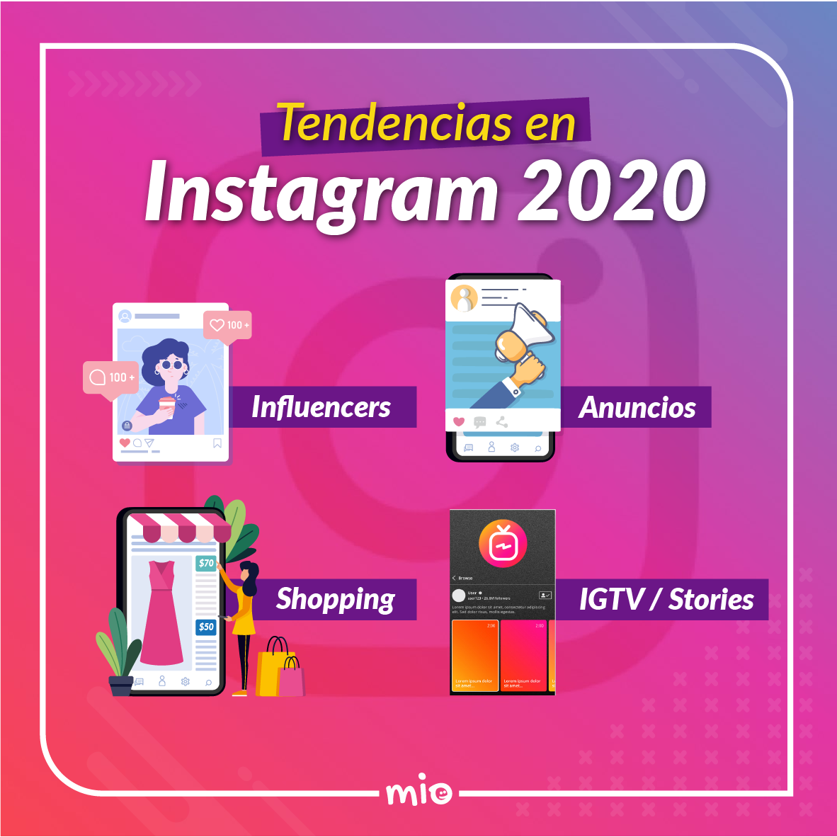 Tendencias en Instagram 2020