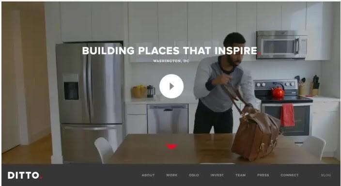 Tendencias de Diseño Web 2020: Videos de fondo.