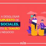 desglosar tu presupuesto de redes sociales