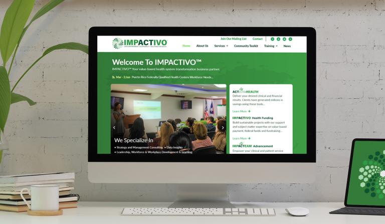 Creación de plataforma completa y user-friendly para ofrecer cursos en Impactivo