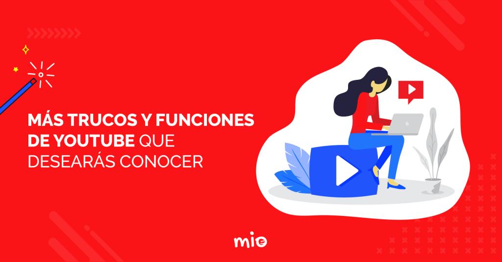 trucos y funciones de youtube
