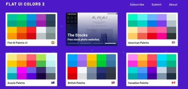 flat ui colors combinaciones de colores