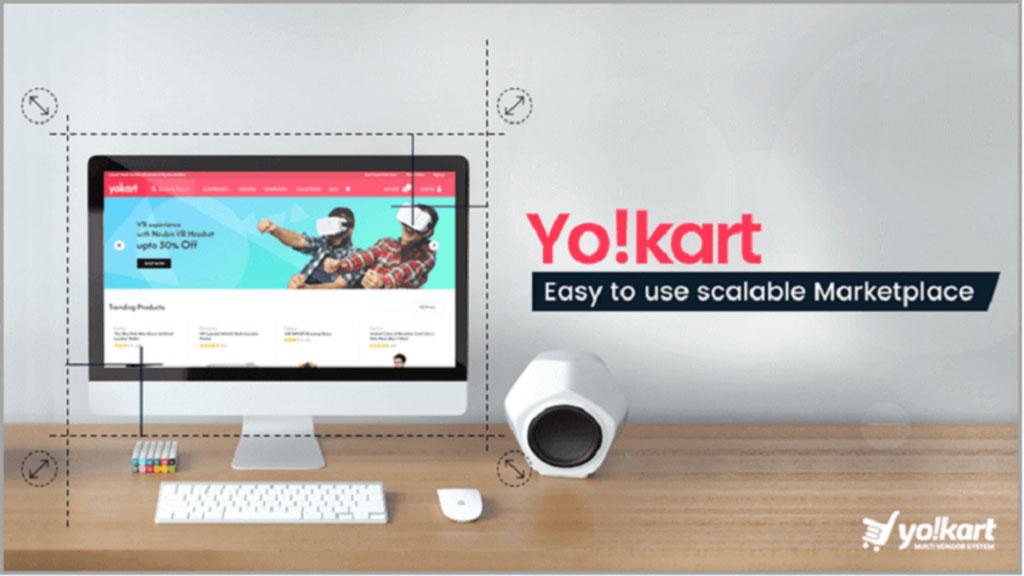 YoKart es una plataforma de comercio electrónico popular